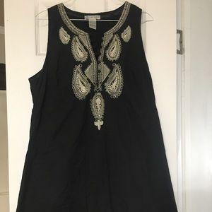 Dresses & Skirts - Cute Options Black and Tan Large Dress
